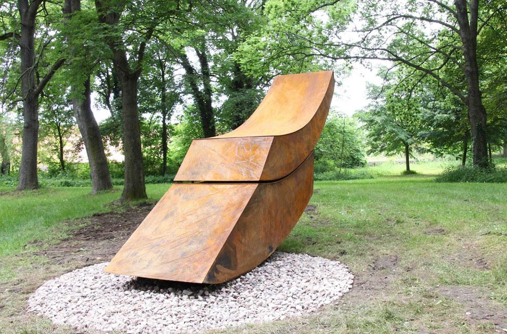 Home einzigartige skulpturen f r park for Metallskulpturen garten
